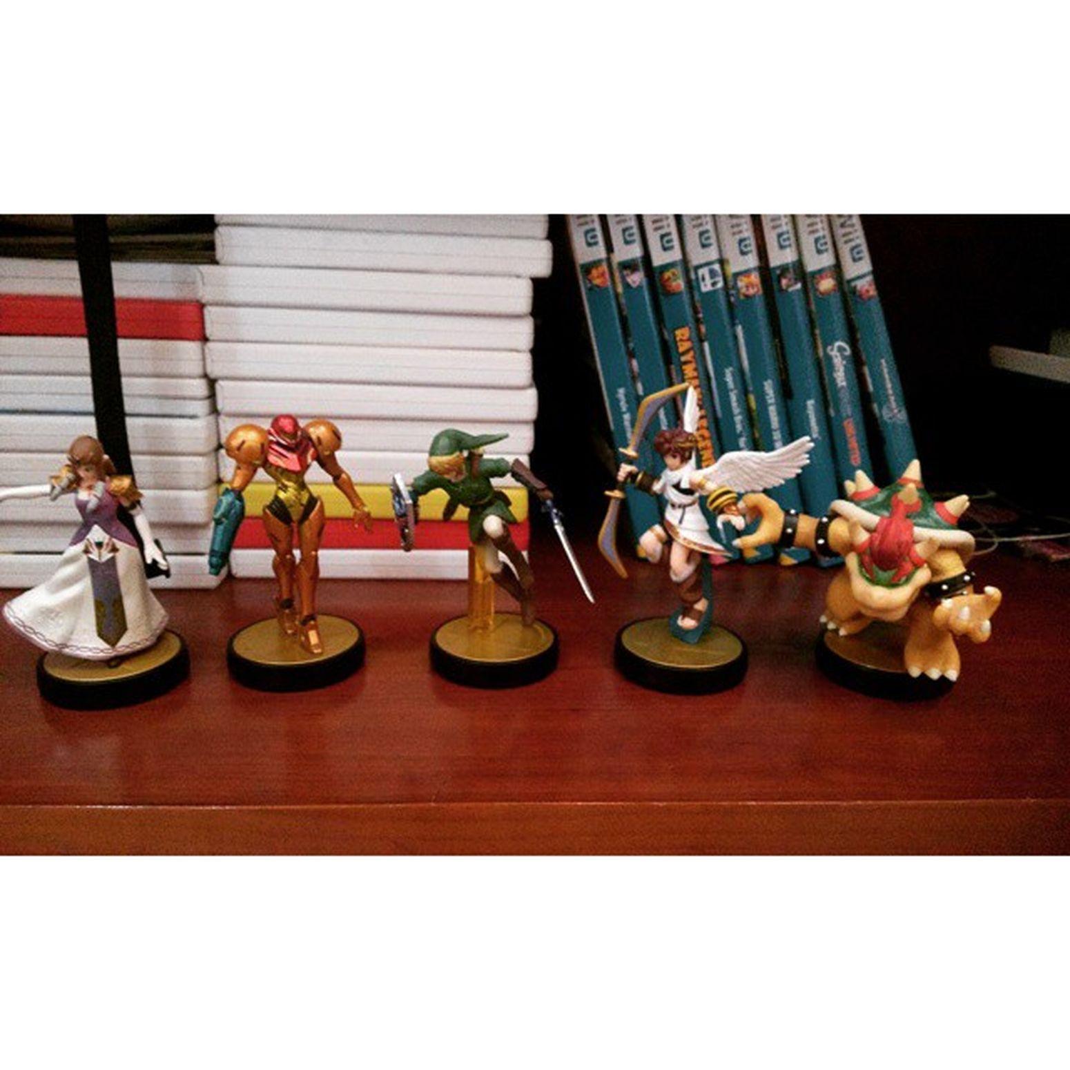 Gonna buy them all * WiiU Amiibos Supersmashbrothers Love it