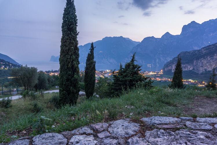 italia Italia Italie Italien Lago Di Garda Panorama Beauty In Nature Day Field Grass Growth Italy Italy❤️ Italy🇮🇹 Landscape Mountain Mountain Range Nature No People Outdoors Plant Scenics Sky Tranquil Scene Tranquility Tree