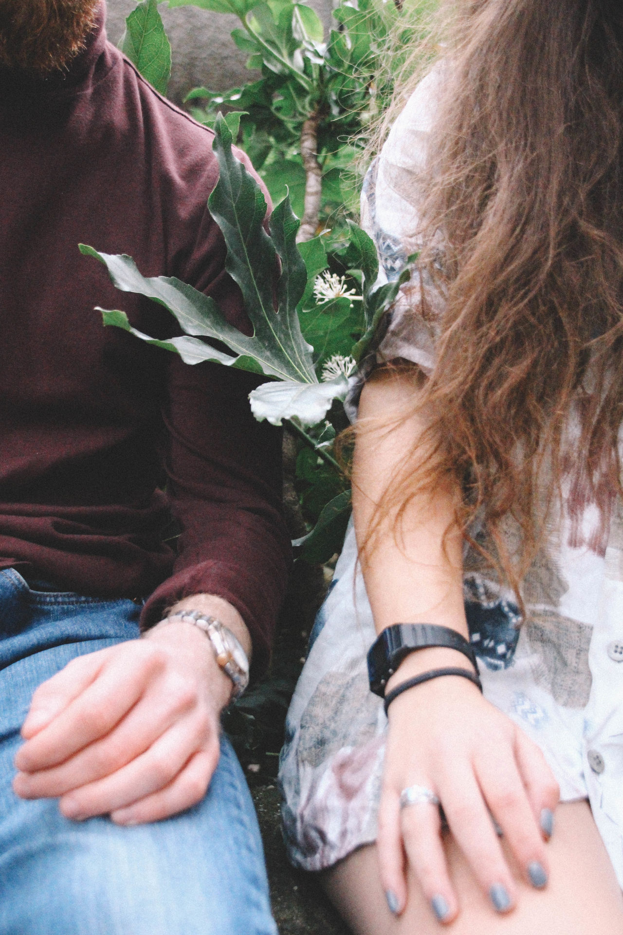 Beautiful stock photos of fashion, real people, two people, day, togetherness