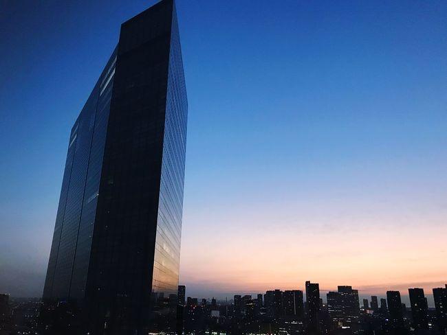 Morning Tokyo Architecture Built Structure Skyscraper Building Exterior Modern Travel Destinations City