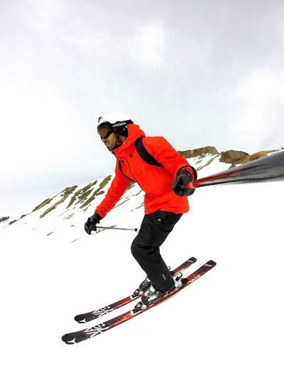 Skiing, so happy! Skiing Austria