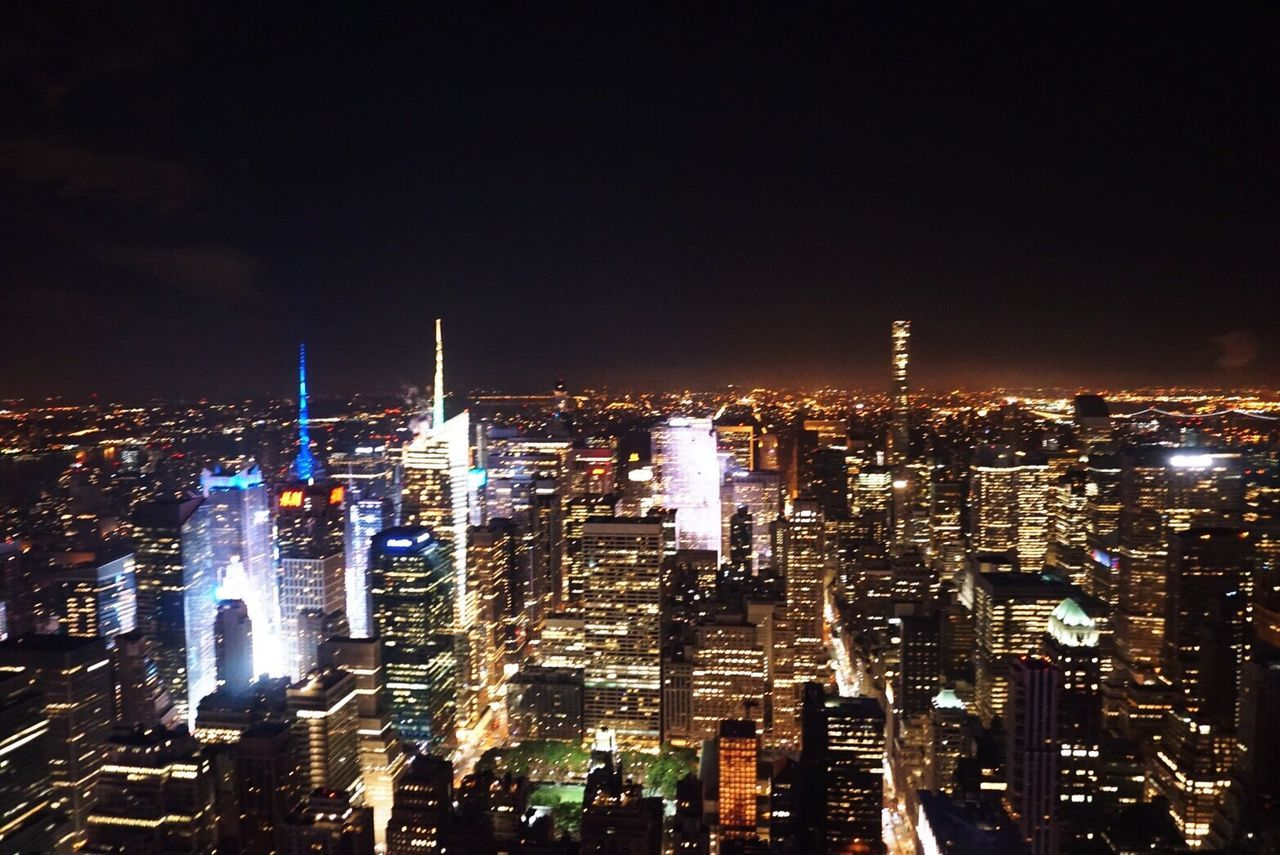 Light Lights In The Dark Illmination Buildings Flying High High Angle View High Contrast High Buildings Lots Of Lights Nightlife Night USA Photos Sky City New York City Flying High
