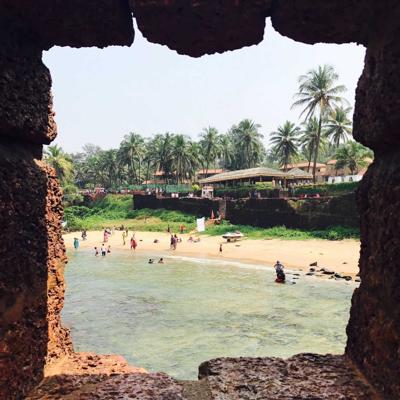 First Eyeem Photo Naturalframe IPhoneography Goa Beach Seascape Sea And Sky Seaside Beachphotography Outdoors