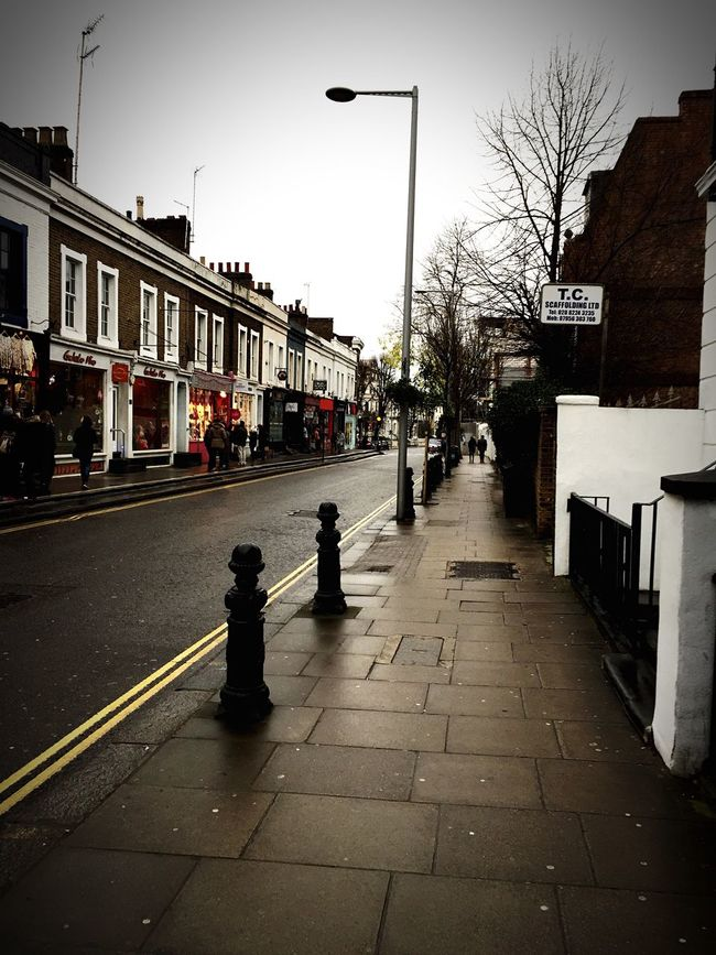 Nothing hill London Street Built Structure City Outdoors Nothinghill London Europe Photography Travel Destinations My Favorite Place Streetphoto Tourism Winter Streetphotography Building Exterior Architecture No People Travel Photography