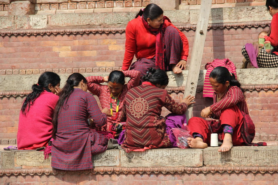 Women Adults Only Lifestyles Nepalipeople😊 Traditional Clothing nepal travel Women Around The World