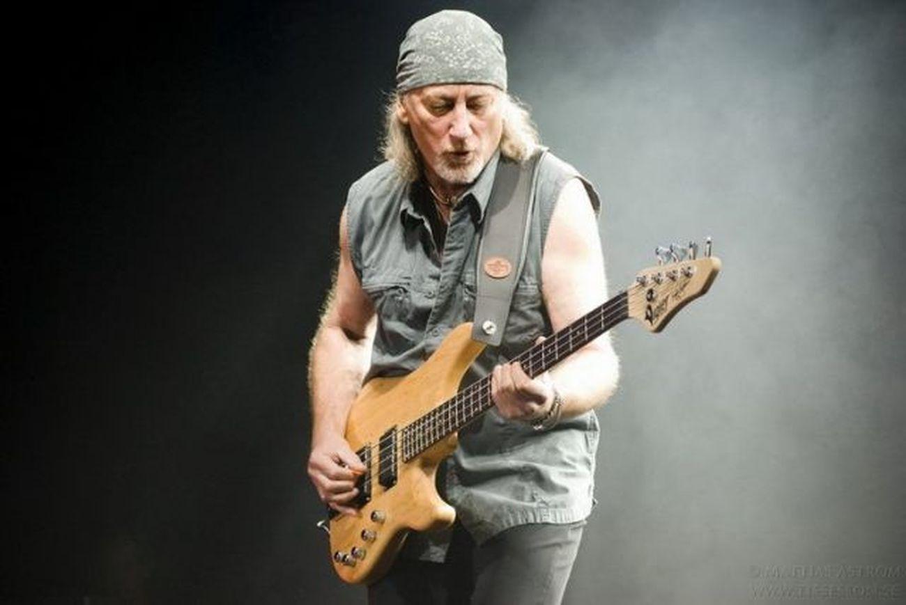 Roger Glover from Deep Purple. Rockstar Deep Purple Bass Guitar Classic Rock