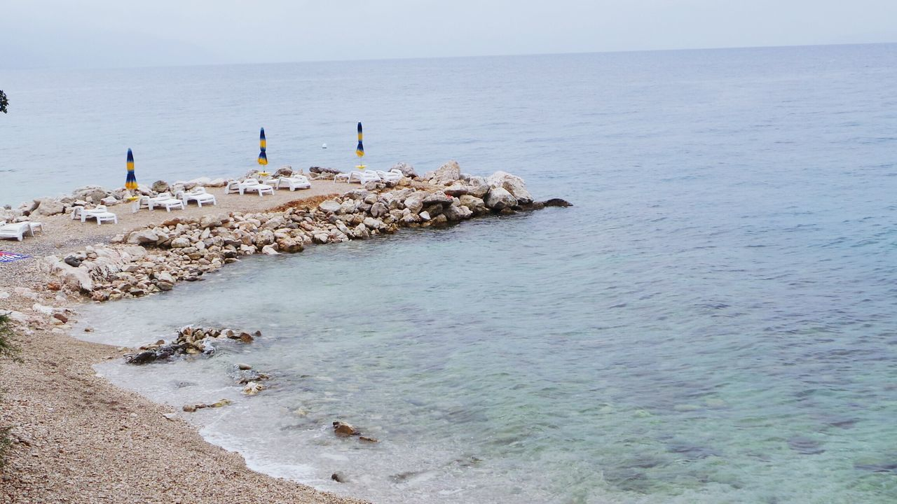 High Angle View Of Jetty On Sea