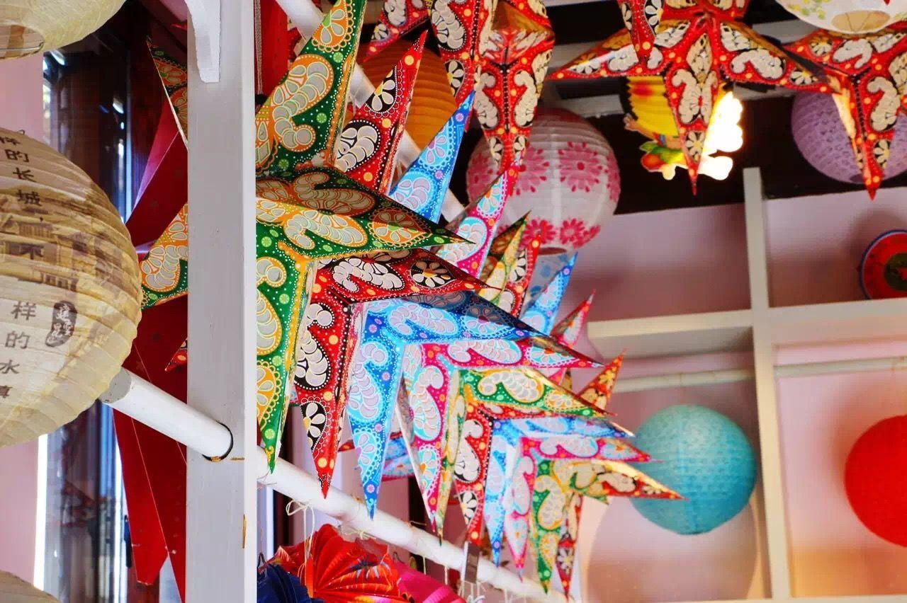 古北水镇 Starts Lantern Glim Colorful Lanterns Scaldfish Miyun Beijing