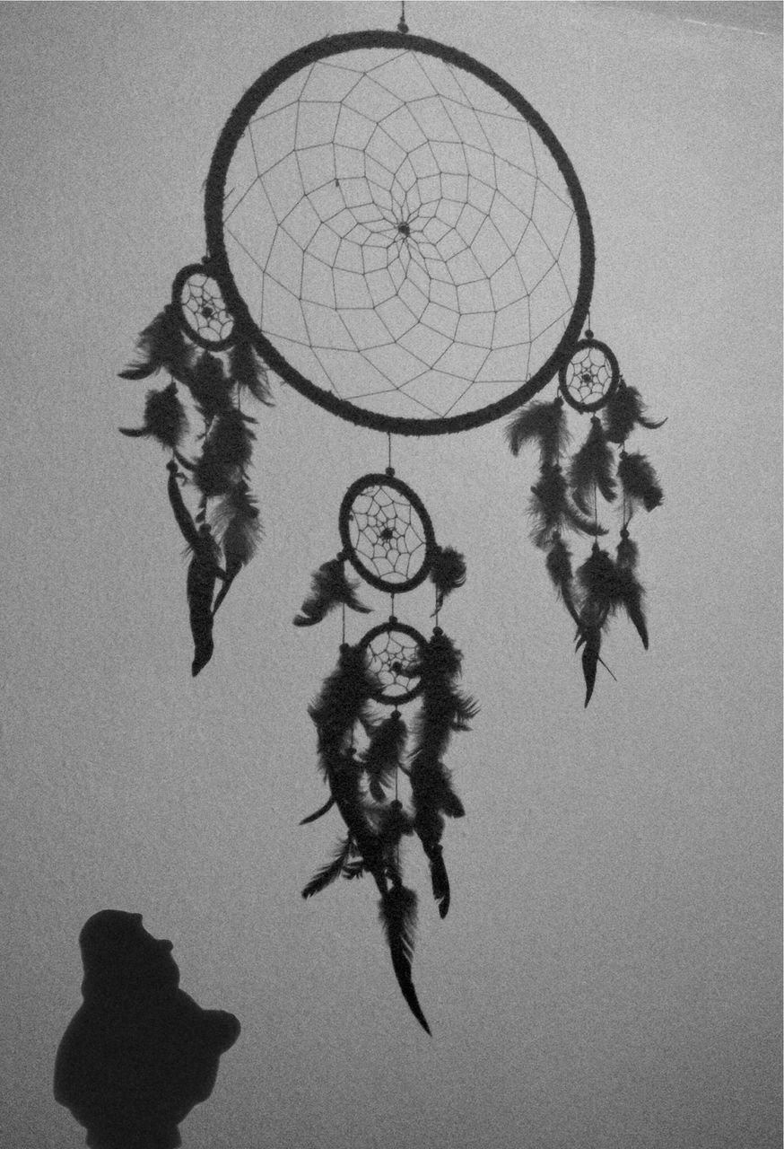 dreamcatcher, art and craft, hanging, creativity, indoors, no people, pattern, day, close-up