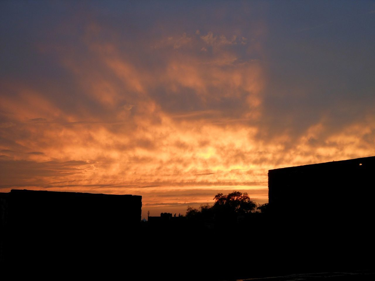 sunset, silhouette, architecture, no people, built structure, sky, building exterior, outdoors, nature, beauty in nature