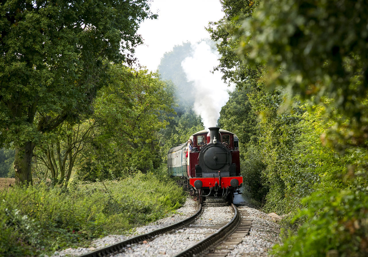 Epping Forest Heritage Railway London London Underground Railway Railway Track Steam Train Train