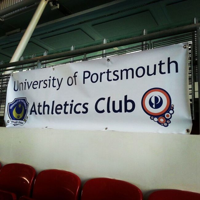 University of Portsmouth Athletics Club!! Get it up get it up!!! UPAC Team OneLove !!