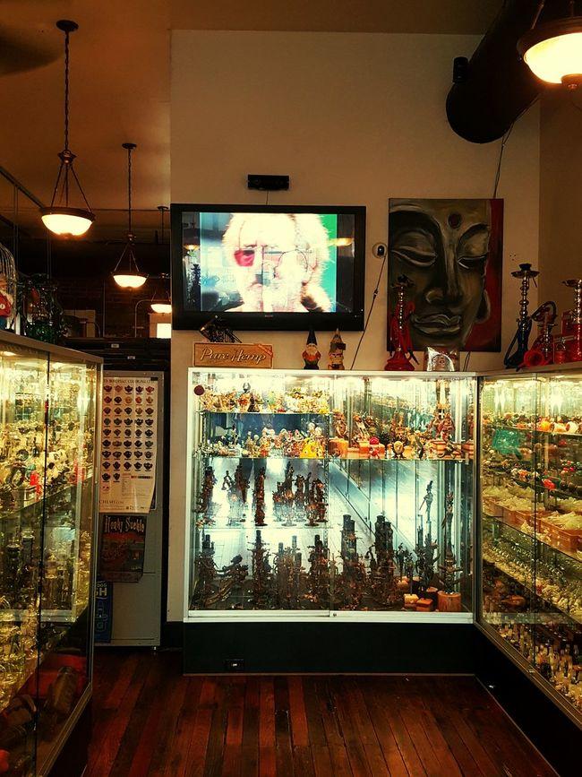 Eddies Headies Glass Glass Life Grateful Dead Jerry Garcia Head Shop Life