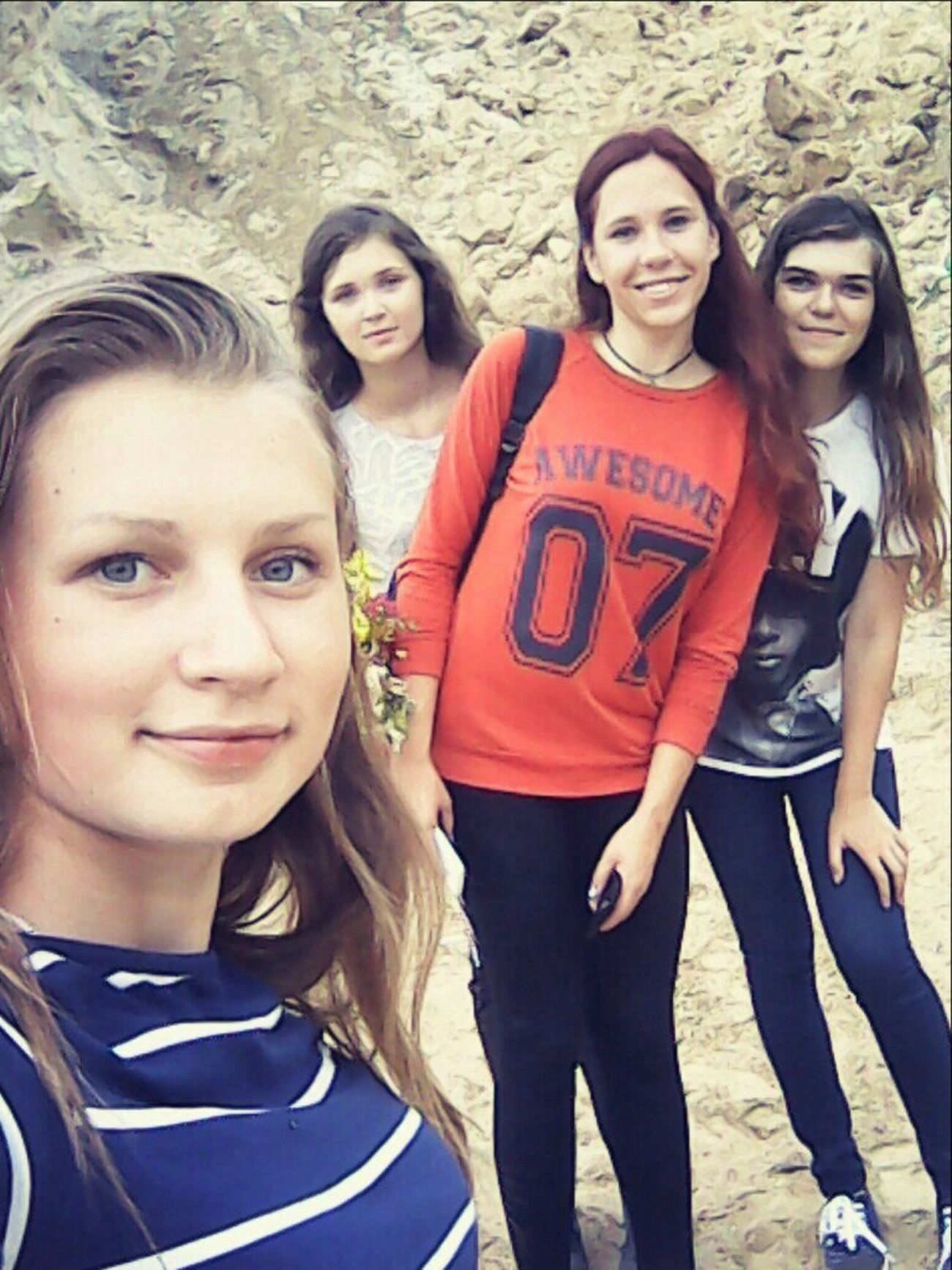 Photo Hello World Ukraine Selfie ✌ Selfportrait Girl Friends