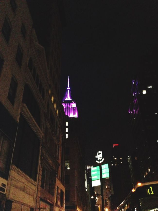 Empire State Building Colors Empire Of Lights