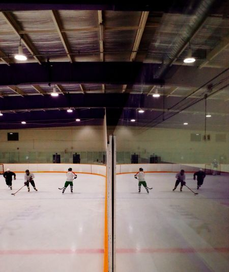 big team Ice Hockey Sport Competition Indoors  Competitive Sport Playing Ice Rink People Adult Hockey Sports Uniform Sports Clothing Sports Team Stadium Sportsman Only Men Day