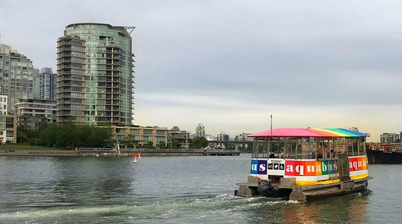 Feel The Journey Vancouver BC Yaletownvancouver Urban Life False Creek Aquabus