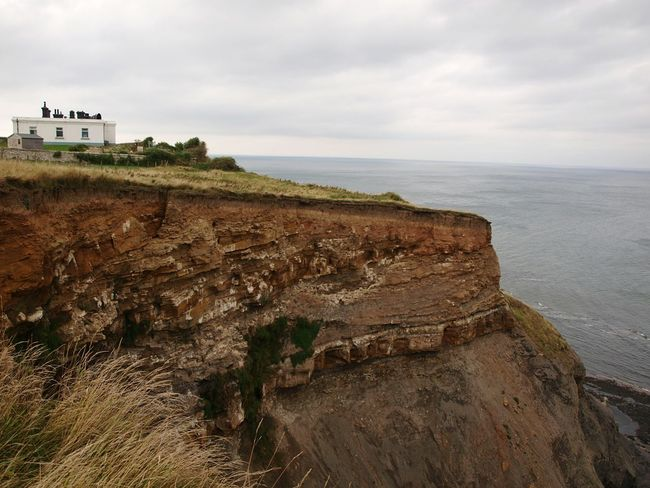 Water Sea Coastline Coastal Walk Cliff Edge Cliffs Clifftop Shore Coast Seascape Clouds Sky Cliff View Yorkshire Coast