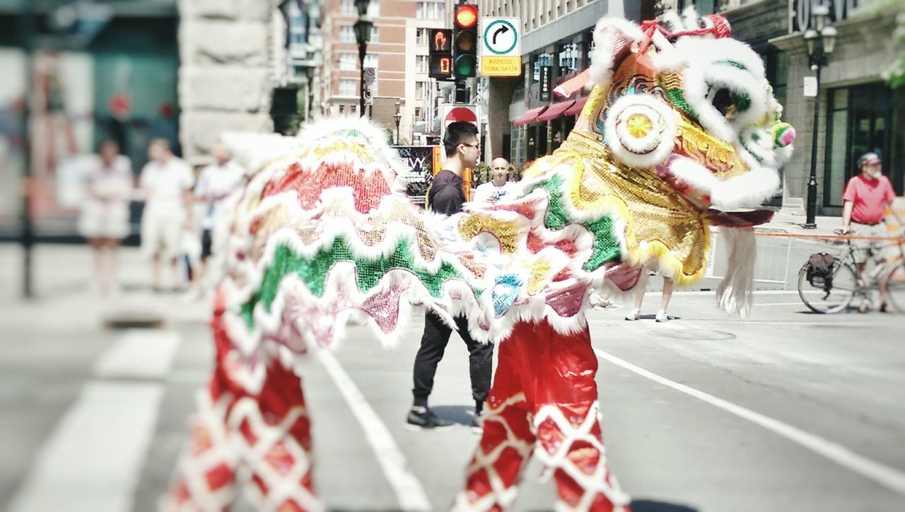 Outdoors Celebration Chinese Cultural Period Costume Canada Montreal