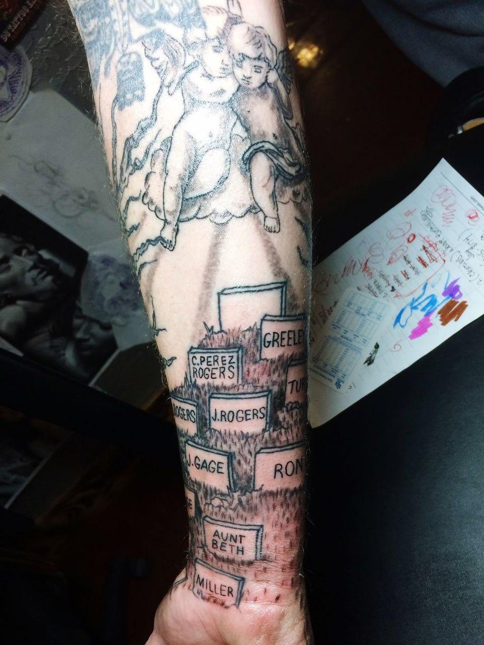 Start to finish 4. Tattoo teddy Rumzek.