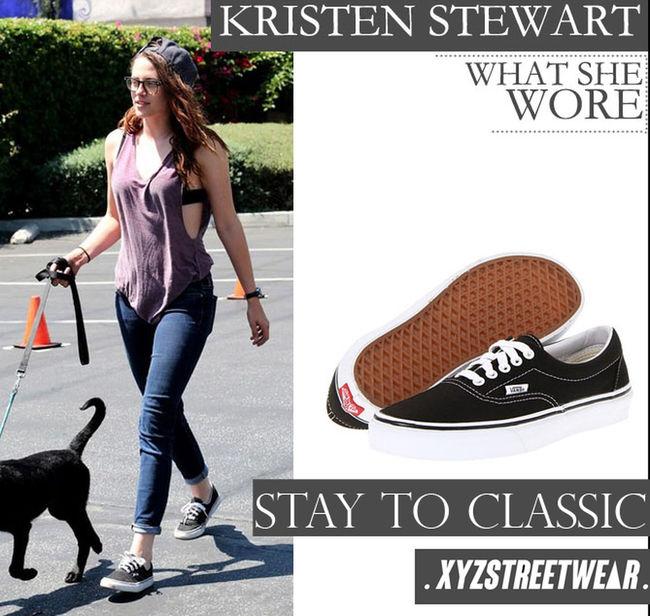 Stay To Classic Kristenstewart Kristenstewartvans Kristenstewartfashion Xyzstreetwear Xyzstreetwearindonesia Lovevans