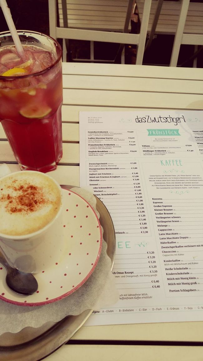 Good morning Mödling Relaxing First Day Of Holiday Breakfast ♥ Modling Zwutschgerl