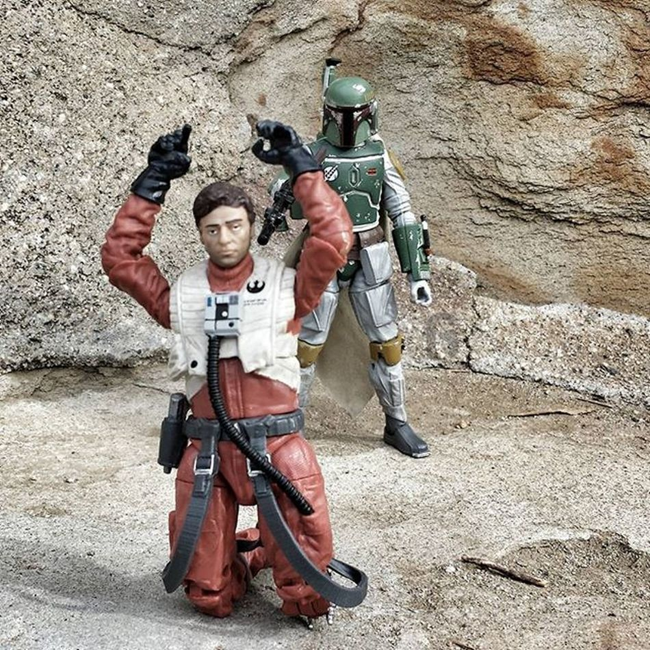 Starwars Blackseries Toyphotography Bobafett Mandalorian Bountyhunter Poe Poedameron Xwing Blaster Starwarsblackseries Starwarstheblackseries