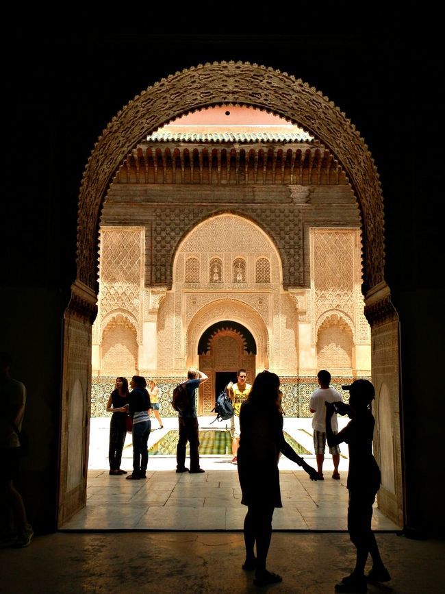 Madraza Ben Youseff (Marrakech) Enjoying Life EyeEm Best Shots Street Photography Hello World