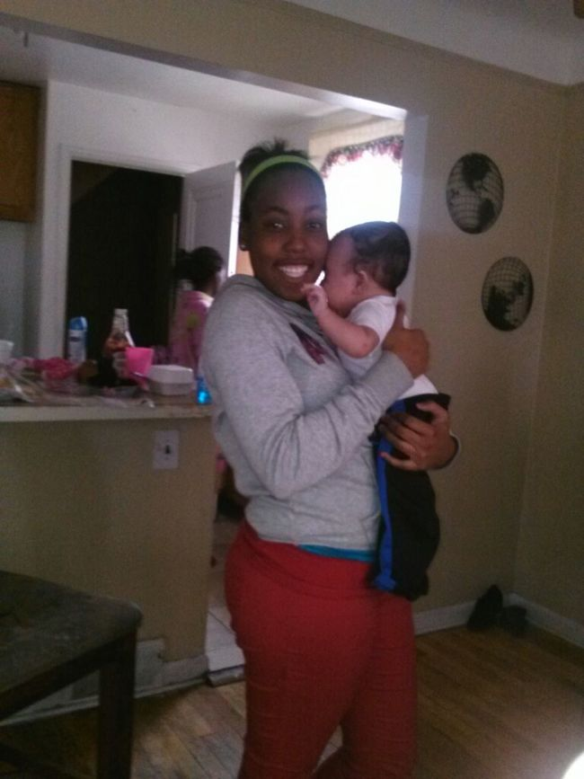 Holding Jeremiah For The First Time