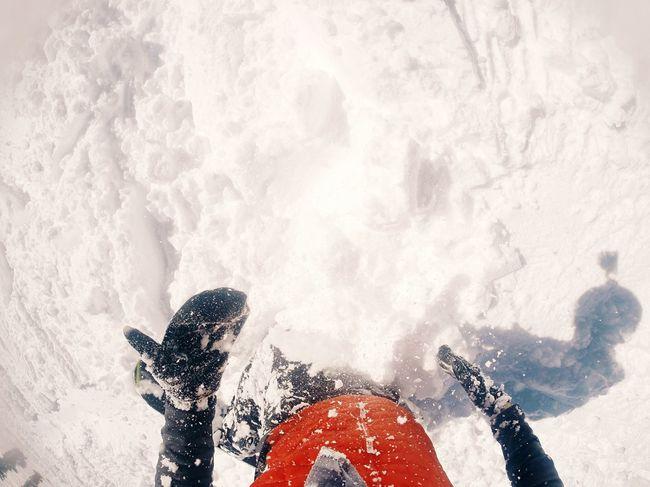 Powder Day // California Squaw Valley Spring Skiing Lake Tahoe