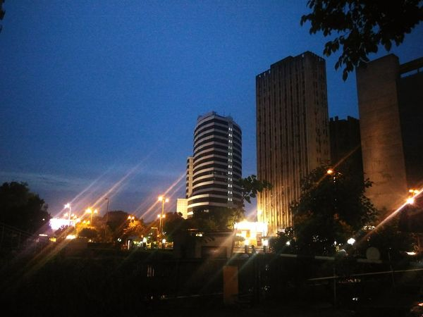 Evening at the CP Hanging Out Travelling Photography Taking Photos Nature_collection CannaughtPlace Cities At Night