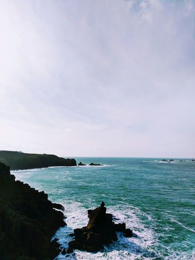 Sea Horizon Over Water Beach Nature Scenics Beauty In Nature No People Tranquil Scene Outdoors Landscape Water Travel Destinations Beauty Wave
