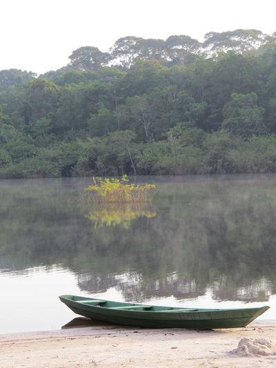 Amazon Amazon - Brazil Amazon Rainforest Amazon River Amazonas Amazonas-Brasil Boat Nature At Its Best Nautical Vessel Reflection Tranquil Scene Travel The World Water