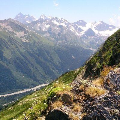 Кавказский хребет архыз