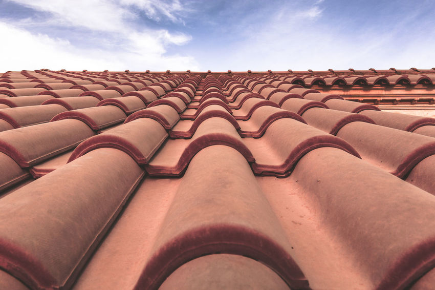 Architecture Background Backgrounds Beautifully Organized Brick Wall Bricks Building Exterior Built Structure Check This Out Exceptional Photographs First Eyeem Photo Hello World In A Row Outdoors Pattern Pattern Pieces Pattern, Texture, Shape And Form Popular Photos Roof Roof Tile Roof Top Sky Tiled Roof  Adapted To The City Minimalist Architecture Millennial Pink EyeEm Diversity The Architect - 2017 EyeEm Awards Place Of Heart An Eye For Travel