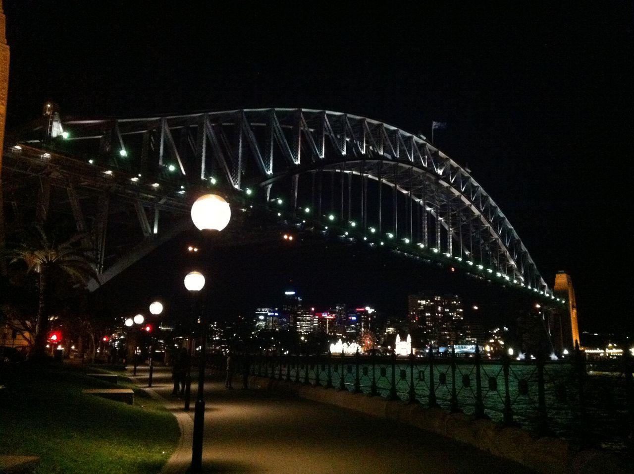 The Coat Hanger Sydney, Australia 2012 Architecture Bridge - Man Made Structure Business Finance And Industry Harbor Bridge Illuminated Midnight Night No People Outdoors Sky The Coat Hanger