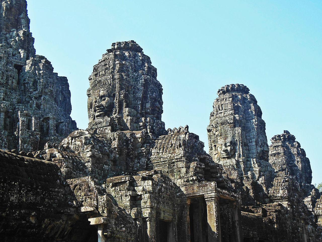 Ancient Architecture Ancient Civilization Angkor Thom Architecture Cambodia Eyeem Cambodia Eyeem History Khmer Empire No People Place Of Worship Tourism Travel Destinations