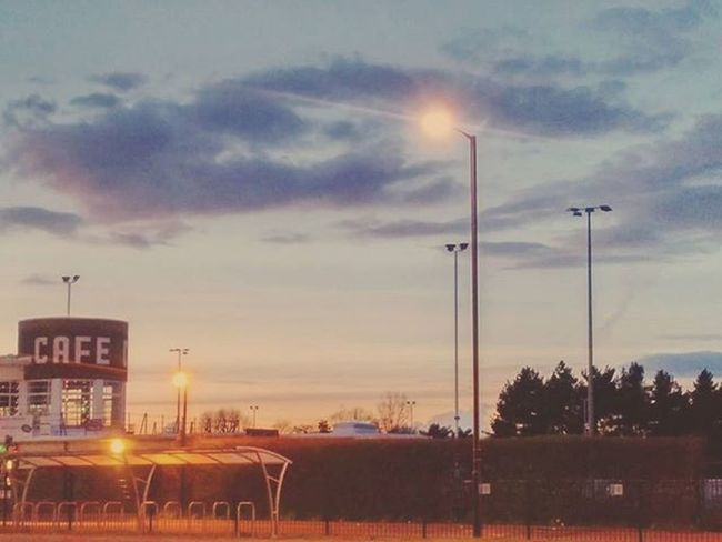 London Enfield Enfieldtown Playingfields Northlondon Sunset Cafe Photography
