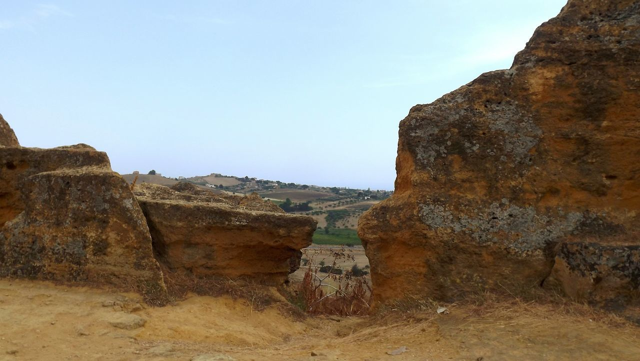 Agrigento Vacations Landscape Travel Destinations Ancient Civilization No People Outdoors Sicilia Sicily Sicily Landscape Italia Italy Bella Italia Beauty Of Italy History Sunny Day