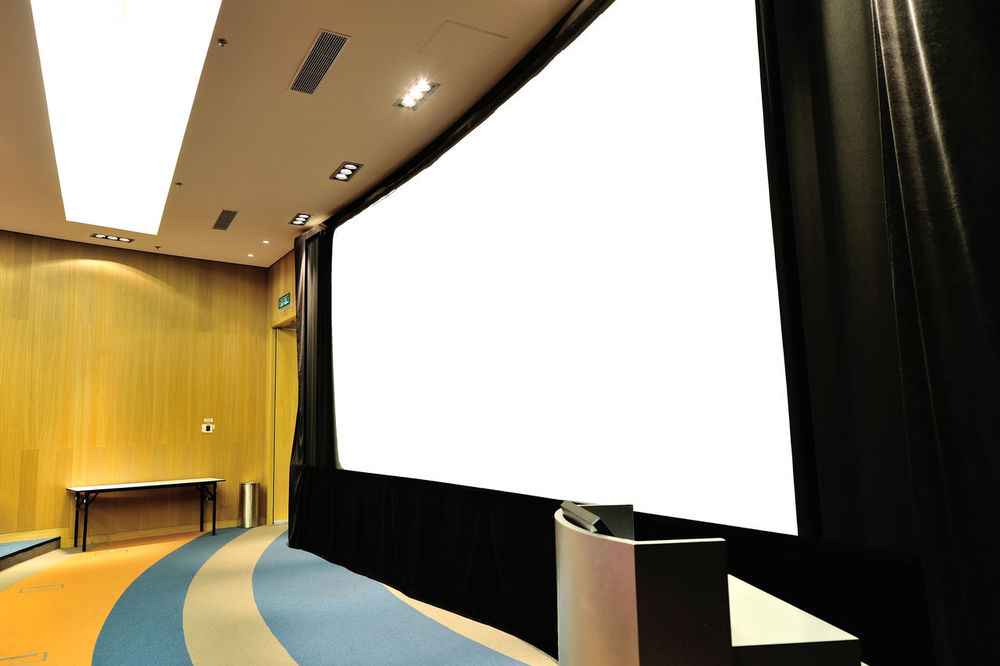 Architecture Auditorium Chair Curtain Day Device Screen Domestic Room Empty Film Industry Indoors  Luxury No People Projection Screen Seat