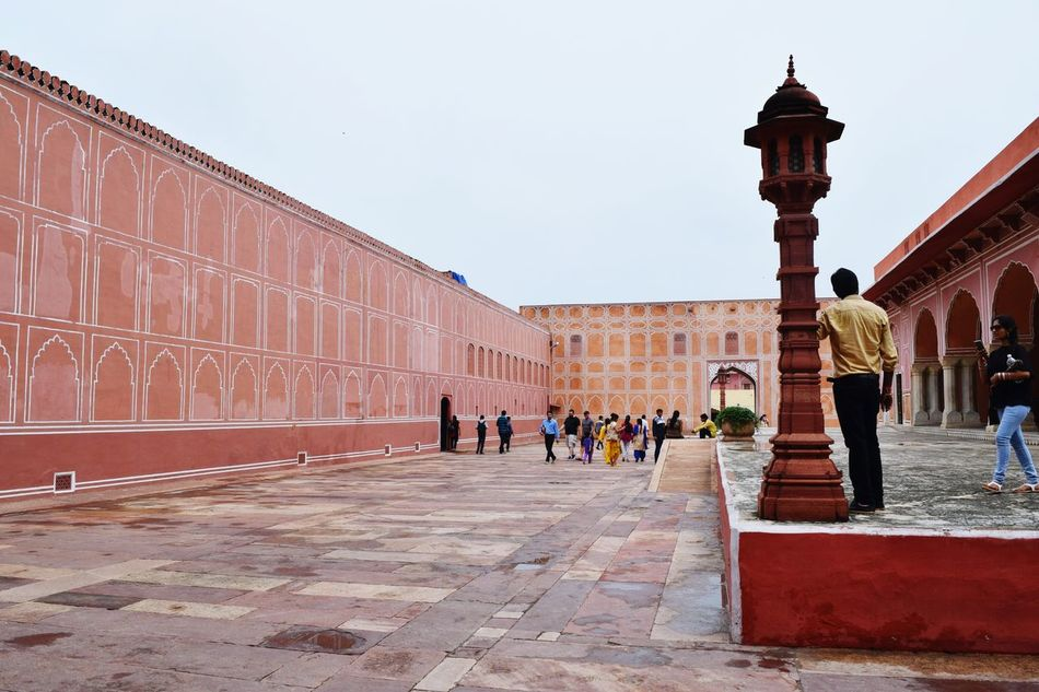 Travel Destinations History People Sky Tourism Architecture Day Travel Jaipur,India Historical Monument Architecture