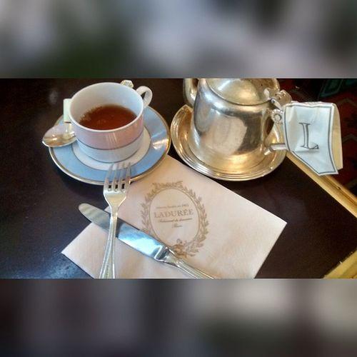 Teatime in the Tea Room Laduree Est1862 Themelangespecialtea