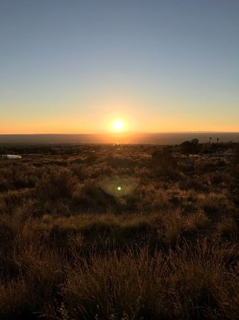 Touchdown Sunset Landscape Beauty In Nature Newmexico Shot On IPhone7 IPhoneography Iphoneonly Wildwest Abq