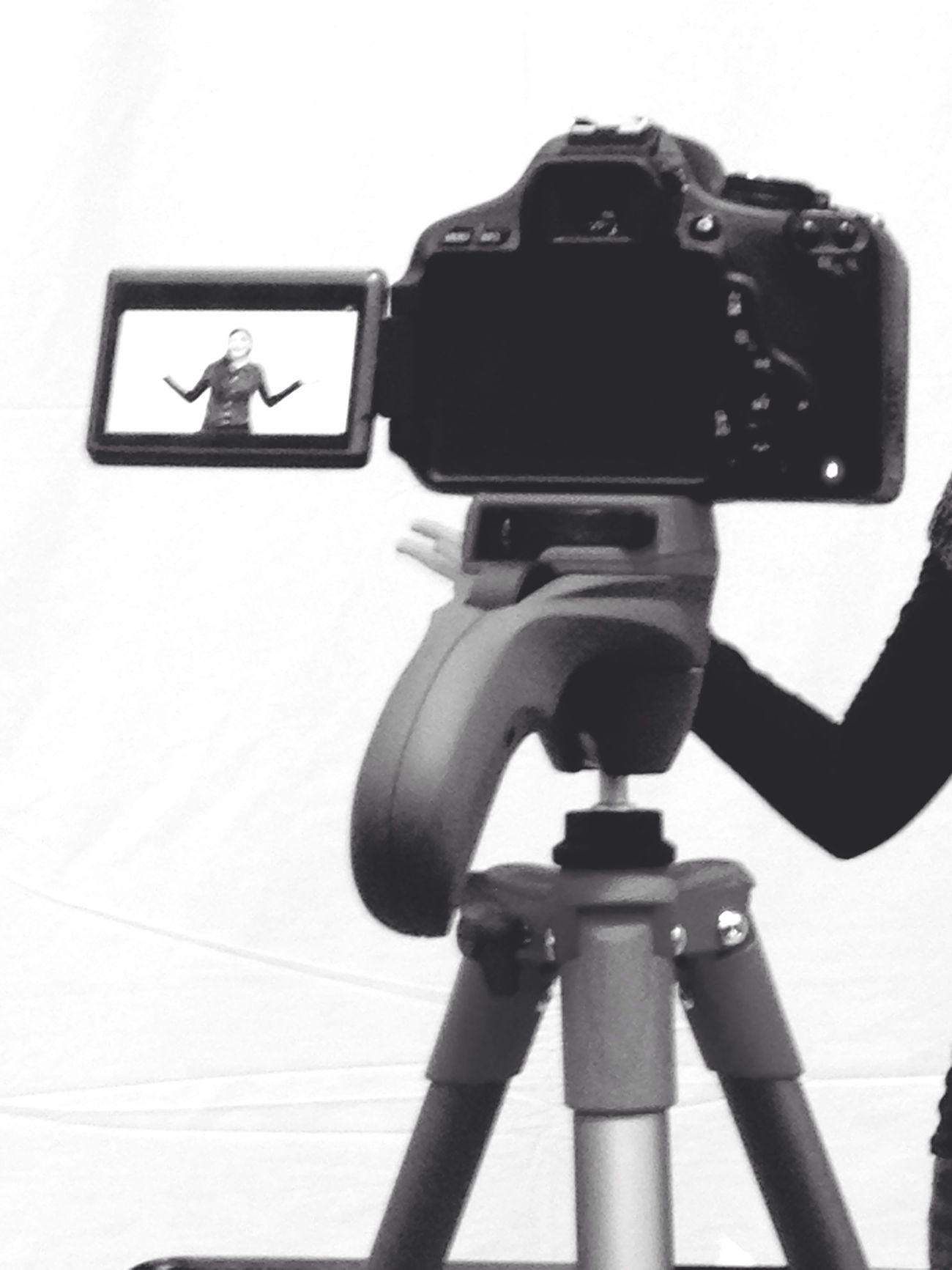 Recording! Recording Camera Cortometraggio Short Film Excited Shooting