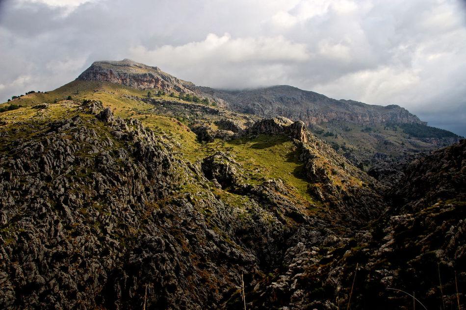 Balearic Islands Beauty In Nature Cloud - Sky Day Landscape Majorca Mallorca Mountain Mountain Peak Nature No People Outdoors Port De Sa Calobra Scenics Sky SPAIN Torrent De Pareis Tranquil Scene Tranquility