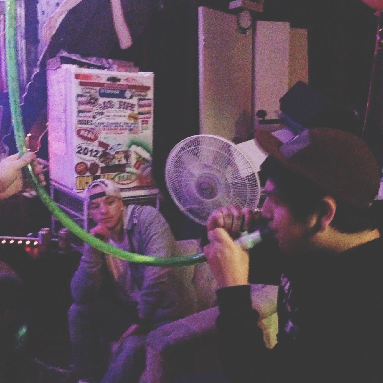 Beer Bong Sesh Homies Doin It