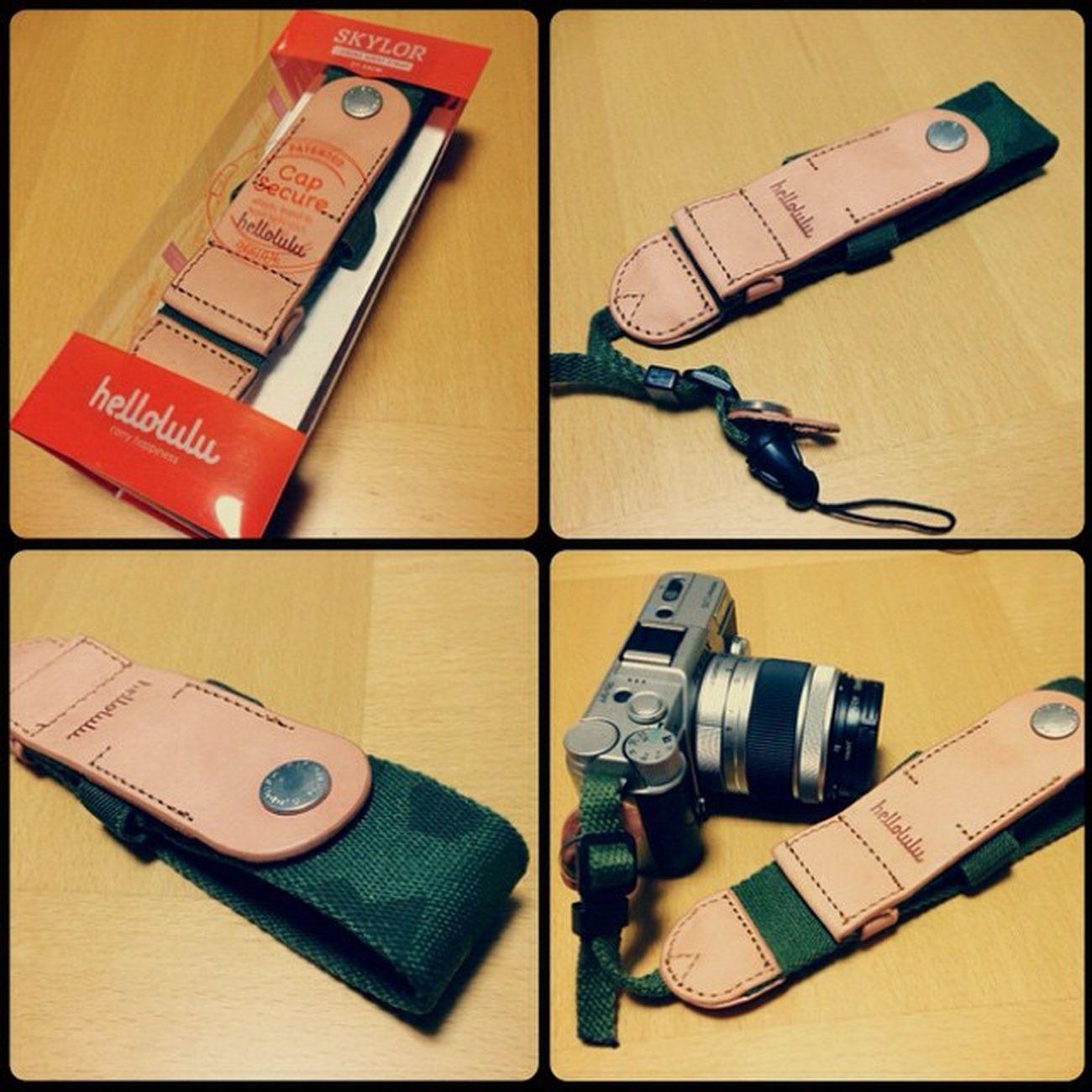Camera Pentax カメラ Camerastrap Hellolulu PENTAXQ10 カモフラージュ かもふら カメラストラップ Skylor ハロルル カメラ雑貨ドットコム カモフラージュ柄 ハンドストラップ Shutterholic リストストラップ