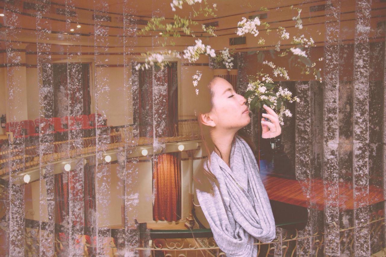 Beautiful stock photos of model, Asian, Beautiful, Day, Eyes Closed