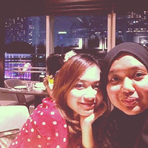 Great catching up wit moi.Takdamonopod Thanksfordinner .rindu joyah's gigih.
