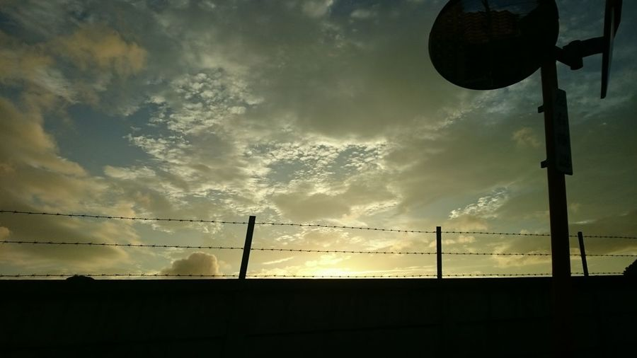 Japanese  Sky Sunset